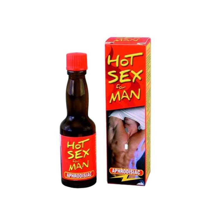 Afrodyzjak w postaci kropel – Hot Sex For Men 20 ml