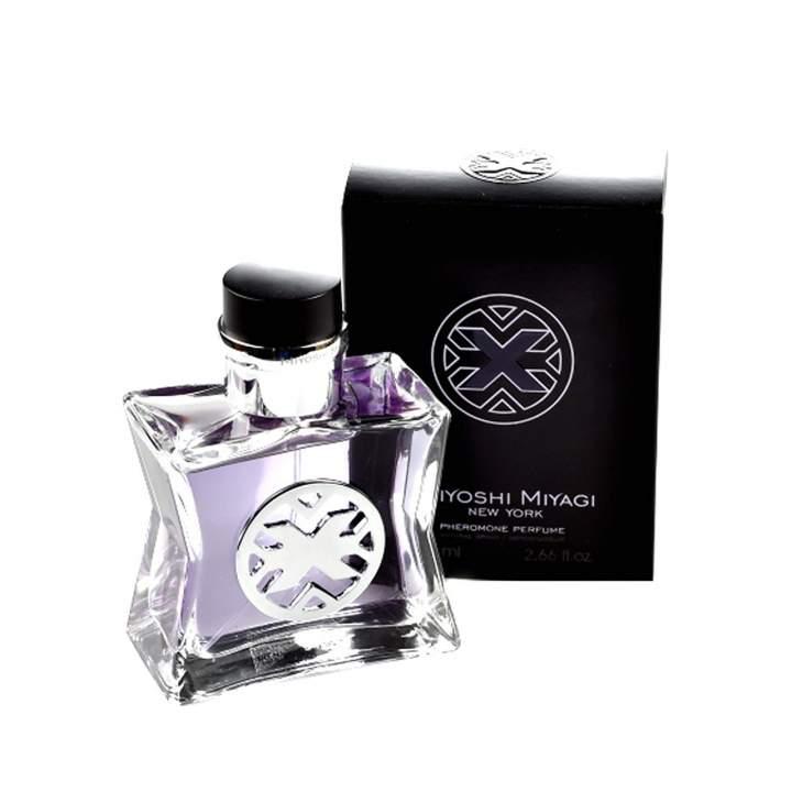 """Miyoshi Miyagi Next """"X"""" perfumy z feromonami dla mężczyzn 80 ml"""