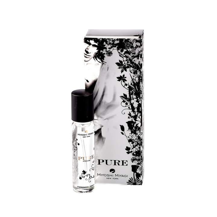 Bezzapachowe feromony w wersji dla mężczyzn – Miyoshi Miyagi PURE – 15 ml