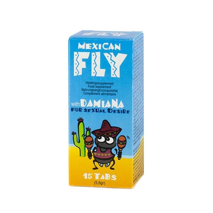 Mexican Fly krople zwiększające doznania 15 szt.