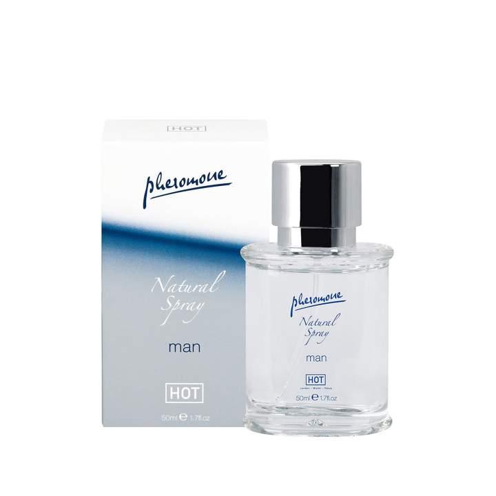 Pobudzające bezzapachowe feromony dla mężczyzn – Pheromon Hot Man – 50 ml