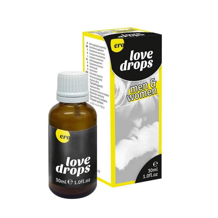 Krople Love Drops 30 ml na seksualne pobudzenie dla kobiet i mężczyzn