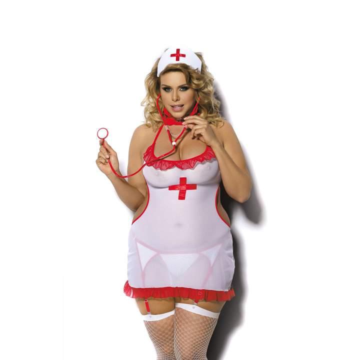 Seksowne przebranie ponętnej pielęgniarki – Angels Never Sin Shane