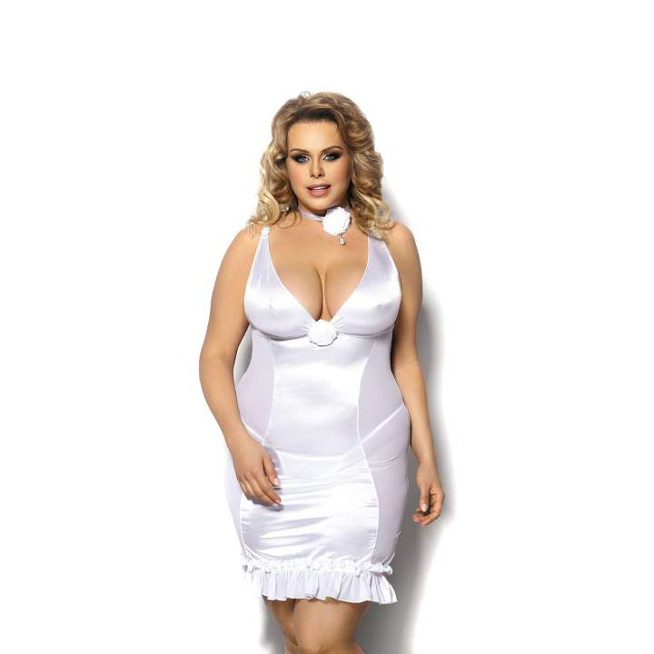 Ponętna, biała koszulka dla kobiet – Angels Never Sin Tanise