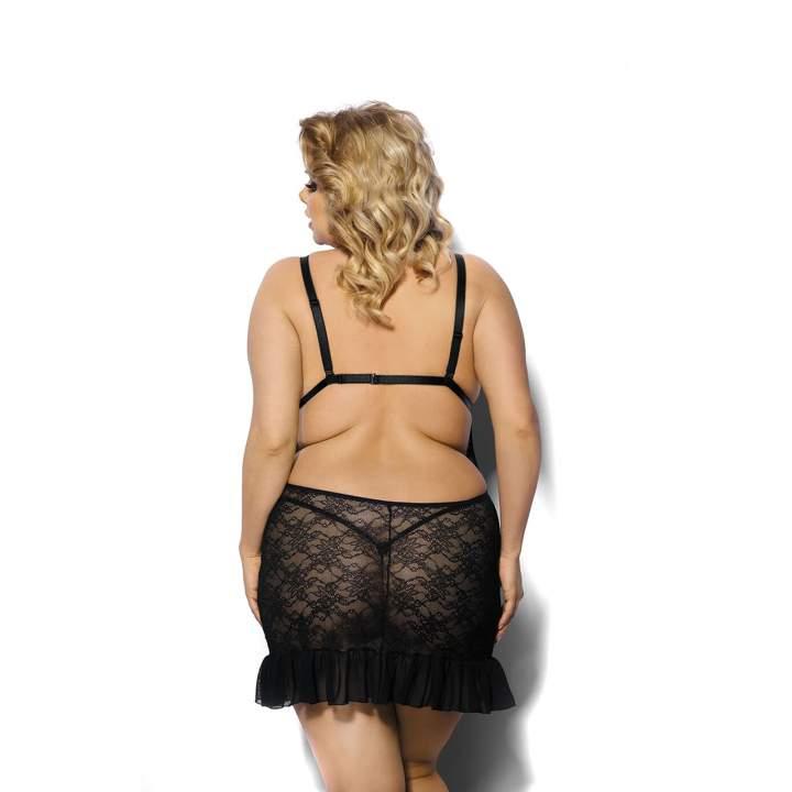 Czarny erotyczny komplet dla kobiet – Anais Evona