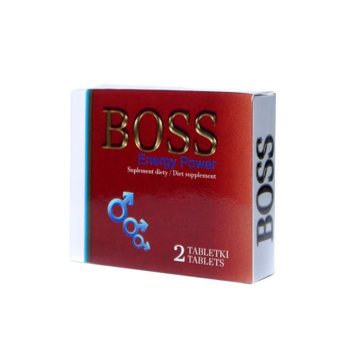 XXX Tabletki na wzwód Boss Energy Power Ginseng 2 szt